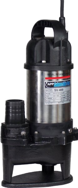SV-400 Manual Submersible Drainage & Sewage Pump 230V